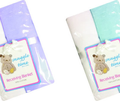 Snuggletime Flannel Receiver 2 Pack