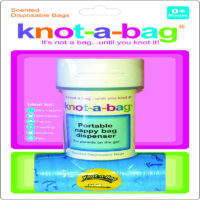 Knot-A-Bag Dispenser