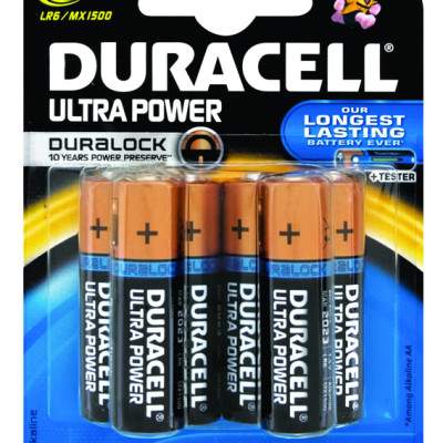 Duracell+ AA 6's