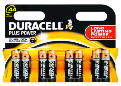 Duracell+ AA 8's