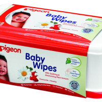 Pigeon Chamrose Wipes Tub 82's