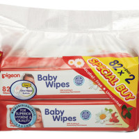 Pigeon Chamrose Wipes 30's 2-in-1 Pack Refill