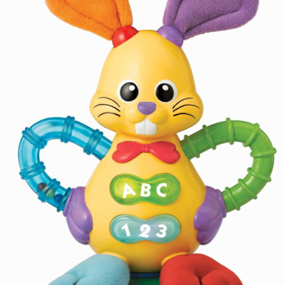 Polyotter Brught Bunny Rattle