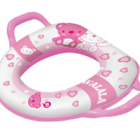 U & Me Padded Toilet Trainer - Pink