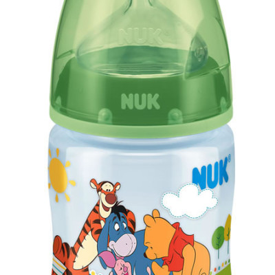 Nuk First Choice Disney Bottle Silicone Teat Size 1 150ml - Green