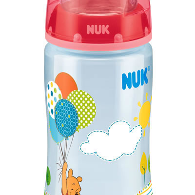 Nuk First Choice Disney Bottle Silicone Teat Size 1 300ml - Red