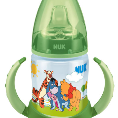 Nuk Disney Bottle with Silicone Non-Spill Spout 150ml - Green