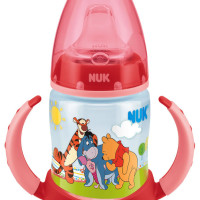 Nuk Disney Bottle with Silicone Non-Spill Spout 150ml - Red