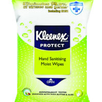 Kleenex Sanitising Moist Wipes