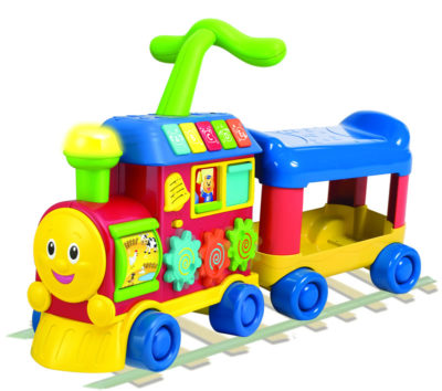 Winfun Ride-On Learning Train Walker