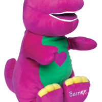 "Barney ""I love you"" 10 Inch"