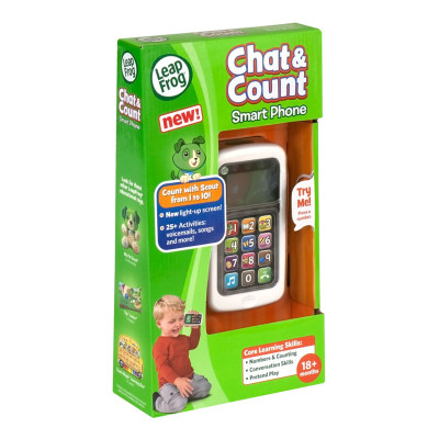 Leapfrog Scout Chat & Count Cell Phone