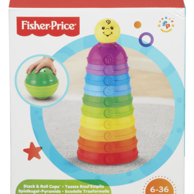 Fisher Price Stack 'n Roll Cups