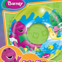 Barney Double Chamber Swim Ring