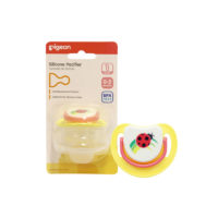 "Pigeon Silicone Step 1 Pacifier ""Ladybird"""