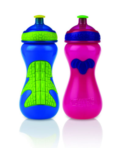 Nuby Gator Grip Sports Bottle 450ml