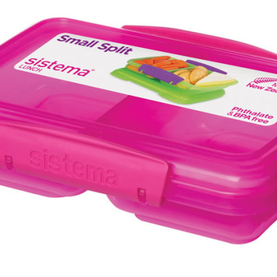 Sistema Split Coloured 350ml - Pink