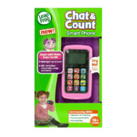 Leapfrog Violet Chat & Count Cell Phone