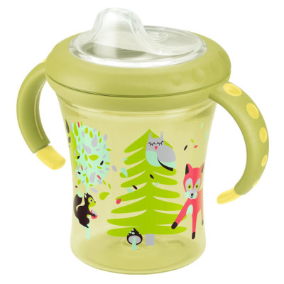 Nuk Easy Learning Starter Cup Size 1 - Yellow Tree