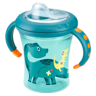Nuk Easy Learning Starter Cup Size 1 - Green Dino