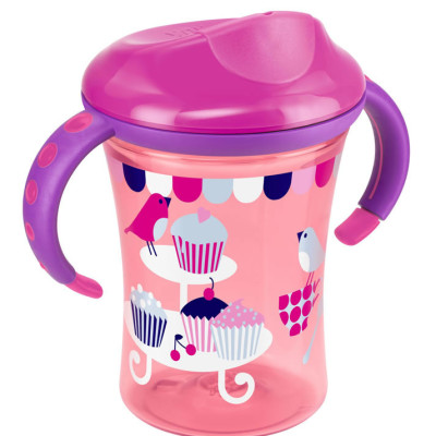 Nuk Easy Learning Training Cup Size 2 - Pink Bird