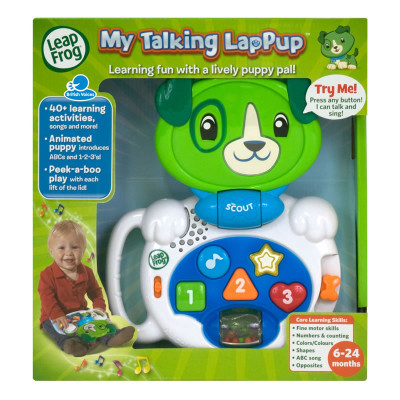 Leapfrog Scout My Talking Lap Pup
