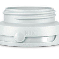 Nuk Bottle Open - Close System - White