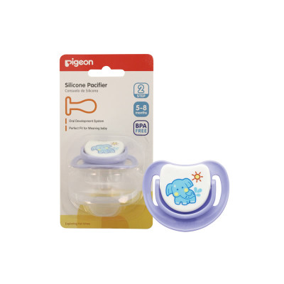 "Pigeon Silicone Step 2 Pacifier ""Elephant"""