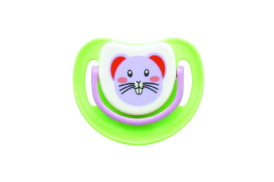 "Pigeon Silicone Step 1 Pacifier ""Mouse"""