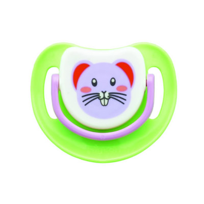 """Pigeon Silicone Step 1 Pacifier """"Mouse"""""""