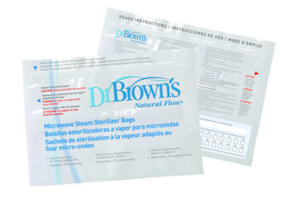 Dr Browns Microwave Sterilizer Bags 5 Pack