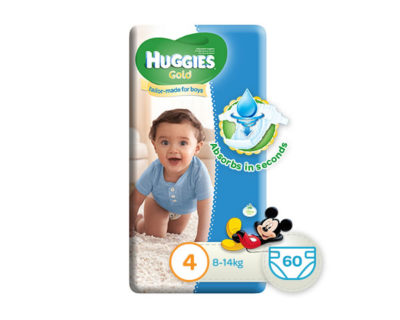 Huggies Gold Boy Size 4 60's