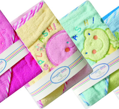 Snuggletime Embroidered Hooded Towels (Assorted)
