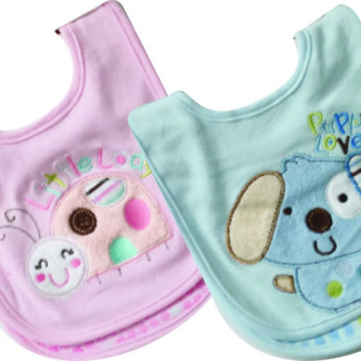 Snugletime Baby Bibs 2 Pack (Assorted)
