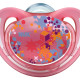 Nuk Silicone Freestyle Soother - Size 3 - Pink