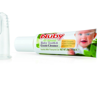 Citro Organics Baby Toothpaste & Finger Brush