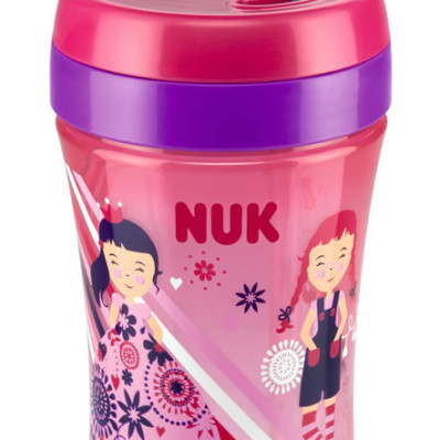 Nuk Easy Learning Fun Cup - Pink Girls