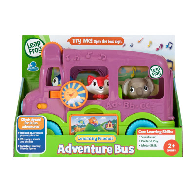Leapfrog Lets Go To School Bus