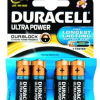 Duracell Ultra Power AA 4's