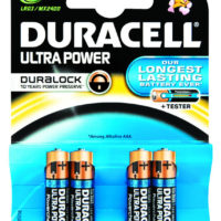 Duracell Ultra Power AAA 4's