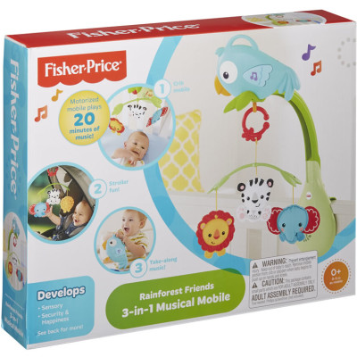 Fisher Price 3-in-1 Rainforest Mobile