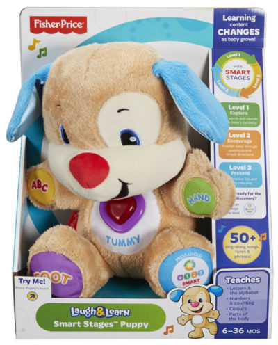 Fisher Price Puppy Smart Stages