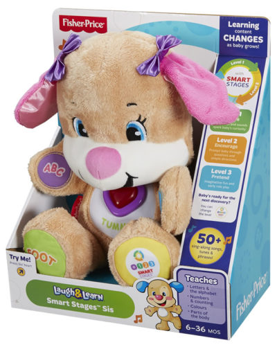 """Fisher Price Puppy Smart Stages """"Girl"""""""