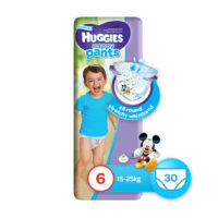 Huggies Pants Boy Size 6 30's