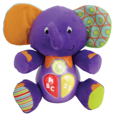 Winfun Sing 'n Learn Time The Elephant