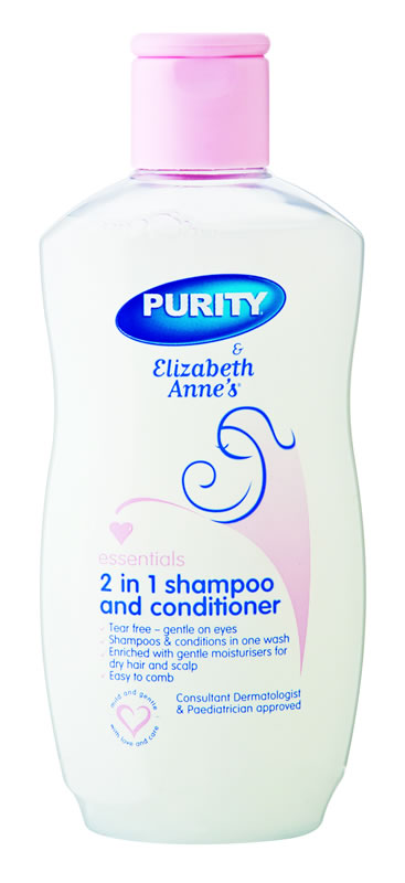 Elizabeth Annes 2-in-1 Shampoo & Conditioner 200ml