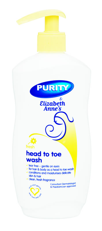 Elizabeth Annes Fresh Head-to-Toe Wash 500ml