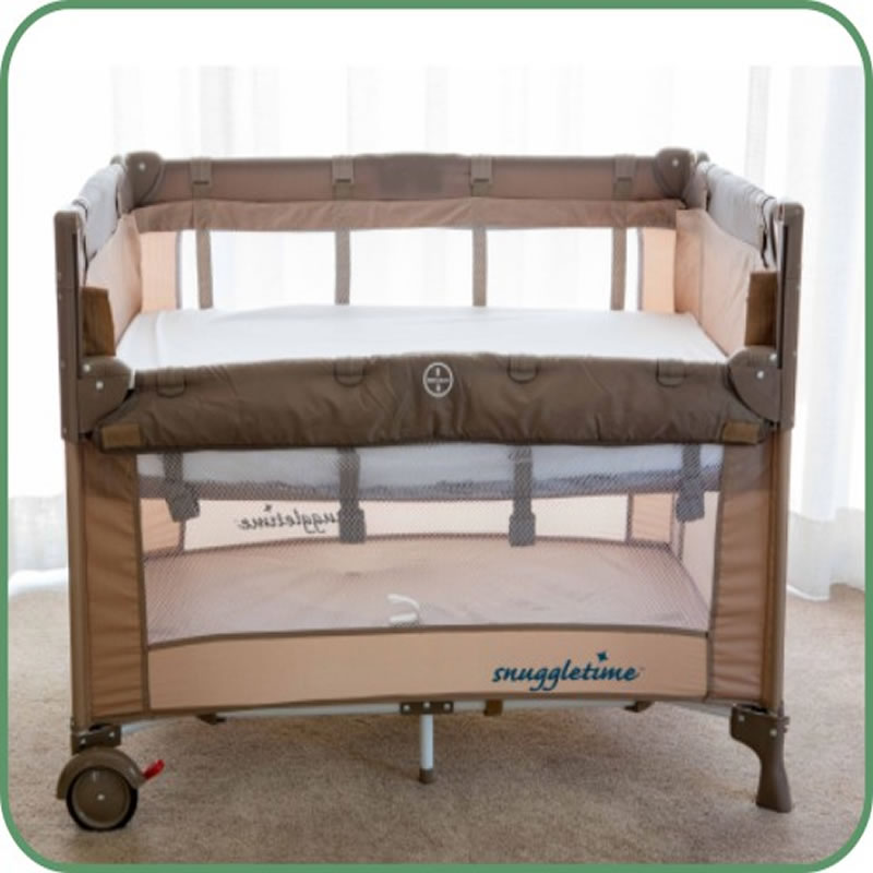 Snuggletime Co Sleeper Camp Cot Baby City