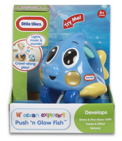 Little Tikes Push 'n Glow Fish (Assorted)