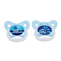 """Dr Browns PreVent Pacifier 0-6m """"Blue"""" 2 Pack"""